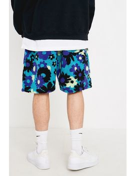 Uo Floral Sherpa Shorts by Urban Outfitters
