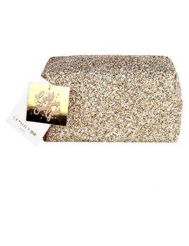 Skinnydip Gold Glitter Makeup Bag by Skinny Dip