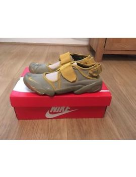 Mens Size 9 Og 1998 Nike Air Rifts In Grey / Yellow. Vintage Original Running by Ebay Seller