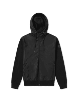 Moncler Maglione Knit Back Windbreaker by End.