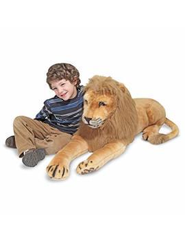 Melissa & Doug Giant Lion   Lifelike Stuffed Animal (Over 6 Feet Long) by Melissa & Doug