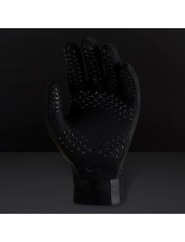 Nike Youths Academy Hyperwarm Gloves   Black/Black/Black by Pro Direct Soccer