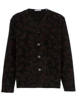 Leopard Print Cardigan by Our Legacy