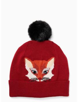 Foxy Beanie by Kate Spade
