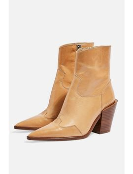 Howdie High Heel Ankle Boots by Topshop