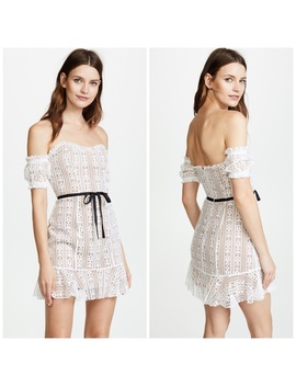 For Love & Lemons Dakota Lace Mini Dress T1518 by For Love And Lemons