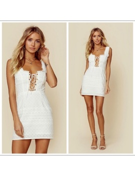 For Love & Lemons Charlotte Lace Up Dress   Nwt by For Love And Lemons