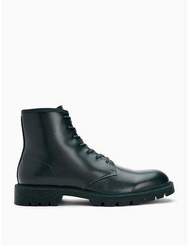 Fenton Leather Boot by Calvin Klein