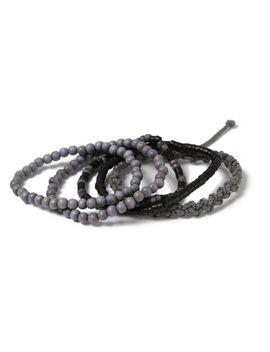 Grey Bracelet Pack* by Topman
