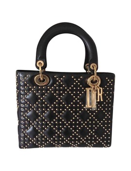 Lady Dior Leather Tote by Dior