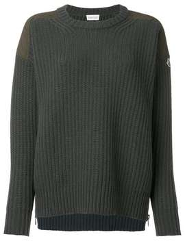 Classic Knitted Sweater by Moncler