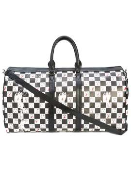 Checkered Duffle Bag by Enfants Riches Déprimés