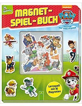Paw Patrol Magnet Spiel Buch: Lernspaß Mit 16 Magneten by Amazon