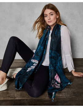 Wonderland Woven Long Scarf by Ted Baker