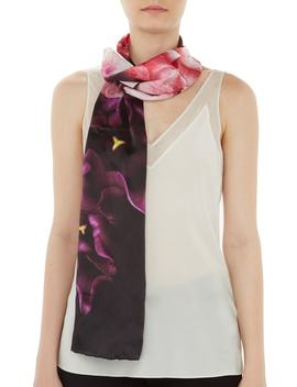 Splendour Skinny Silk Scarf by Ted Baker London