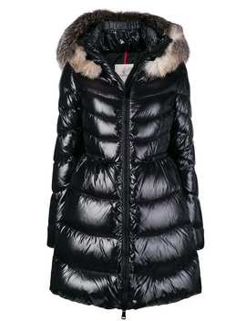 Fur Trimmed Quilted Parka by Moncler