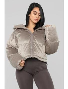 Elin Puffer Jacket   Grey by Fashion Nova