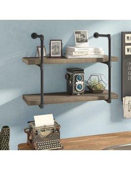 Trent Austin Design Wyndham 2 Industrial Pipe Wall Shelf & Reviews by Trent Austin Design