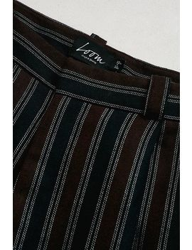 Loom Striped Cropped Trousers by Loom