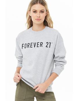 Forever 21 Logo Sweatshirt by Forever 21