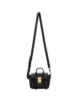 Black Nano Pashli Satchel by 3.1 Phillip Lim