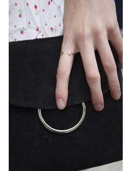 Francesca Moon And Star Ring by Brandy Melville
