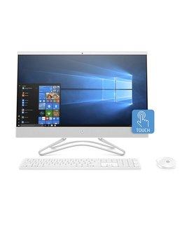 Hp 24 Inch All In One Computer, Intel Core I5 8250 U, 12 Gb Ram, 1 Tb Hard Drive, Windows 10 (24 F0060, White) by Hp