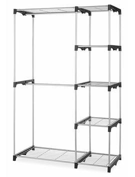 Whitmor 6779 3044 Double Rod Closet, Silver by Amazon