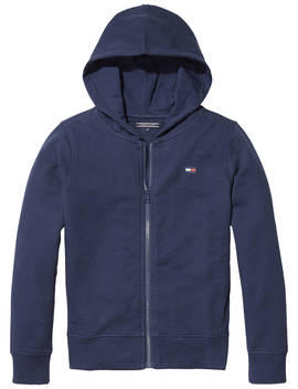 Tommy Hilfiger Boys' Essentials Full Zip Hoodie, Navy by Tommy Hilfiger