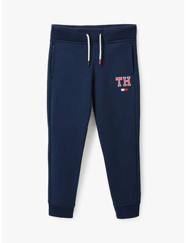 Tommy Hilfiger Boys' Essential Sweatpants, Blue by Tommy Hilfiger