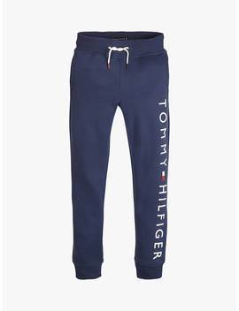 Tommy Hilfiger Boys' Joggers, Navy by Tommy Hilfiger