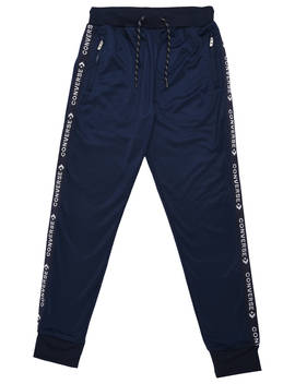 Converse Boys' Tricot Tape Track Joggers, Obsidian by Converse