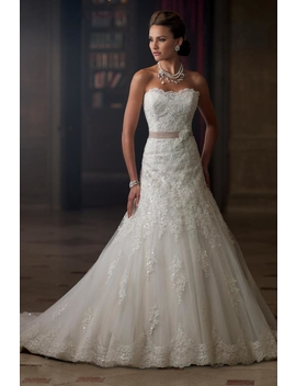 Lace Bridal Gown by Sisters Bridal & Tux, Minnesota