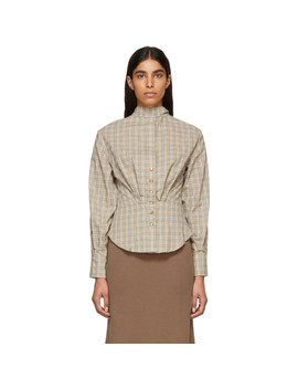 Multicolor Check Reiki Shirt by Isabel Marant