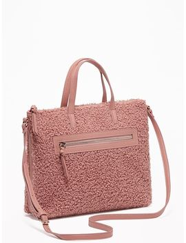 Sherpa Crossbody Bag For Women by Old Navy