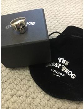 The Great Frog London Skull Ring Silver by Ebay Seller