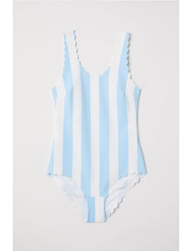Scalloped Edge Swimsuit by H&M