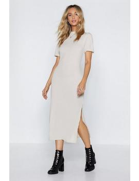 Here's The Tee Maxi Dress by Nasty Gal