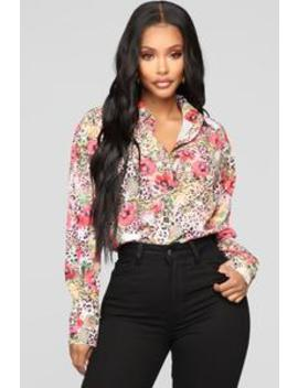 Wildin Out Shirt   Multi Color by Fashion Nova