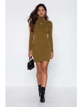 High Fever Ribbed Dress by Nasty Gal