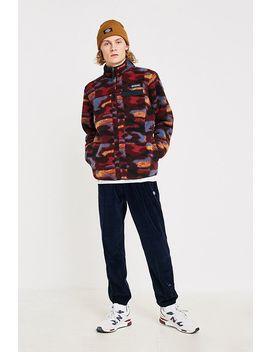 Columbia Uo Exclusive Mountain Side Berry Camo Fleece Jacket by Columbia