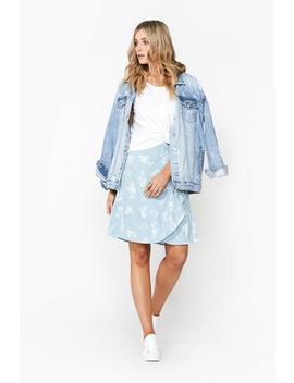 Kayleigh Mini Wrap Skirt by Decjuba