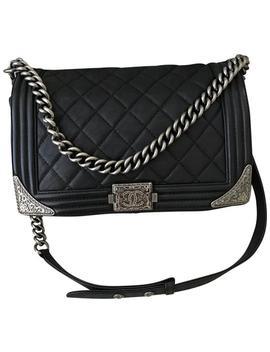 Boy Limited Edition. Paris Dallas Cowboy Black Cross Body Bag by Chanel
