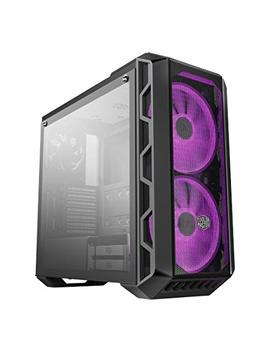 Cooler Master Master Case H500 Atx Mid Tower, Tempered Glass Panel, Two 200mm Rgb Fans With Controller And Case Handle For Transport by Cooler Master