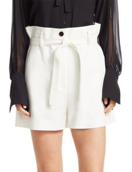 Paperbag Waist Trouser Shorts by 3.1 Phillip Lim