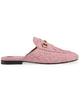 Slippers Princetown En Dentelle by Gucci