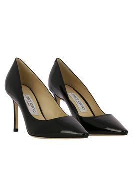 Jimmy Choo Pumps Jimmy Choo Romy DÉColletÉ In Patent Leather by Jimmy Choo