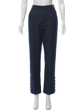 Stripped High Rise Pants W/ Tags by Rosie Assoulin