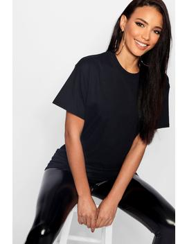 Basic Oversized Boyfriend T Shirt by Boohoo