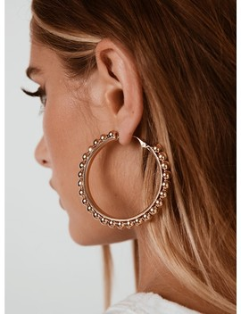 Beaded Hoops by Princess Polly